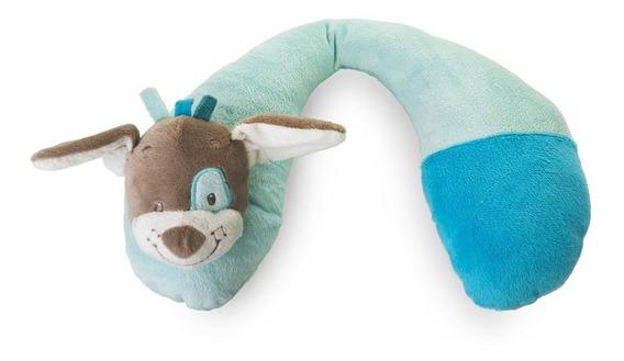 Suporte Protetor De Pescoço - Cachorrinho Azul - Kababy