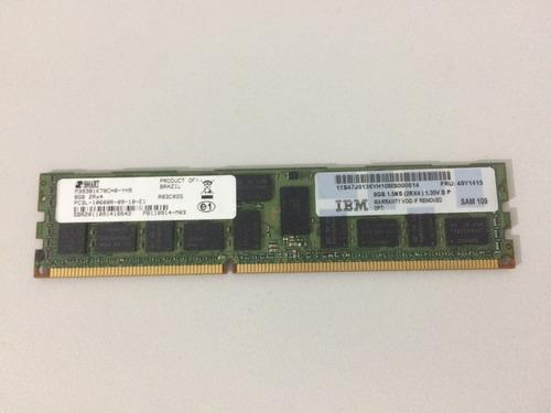 Memoria Ibm 49y1415 8gb 1333mhz Pc3l-10600r Ecc 2rx4 Ddr3
