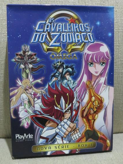 Dvd Os Cavaleiros Do Zodíaco Ômega Box 1 3 Dvds Original