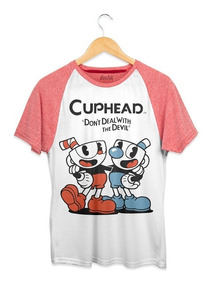Playera Doshik Caballero Cuphead Don´t Deal Whith The Devil