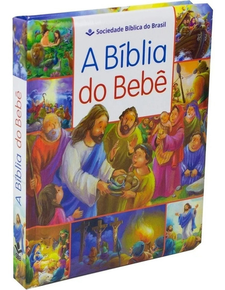 Biblia Do Bebê Ilustrada Infantil