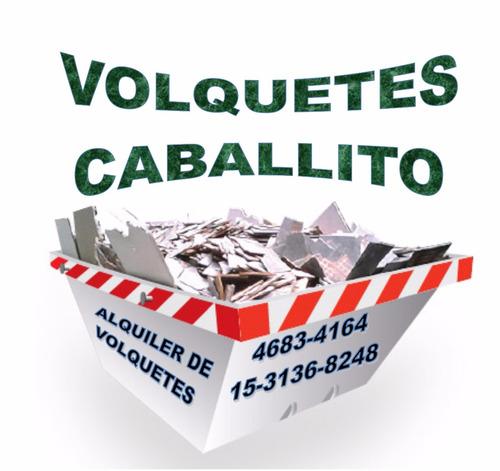 Imagen 1 de 5 de Alquiler De Volquetes Caballito, Flores, Liniers, Mataderos