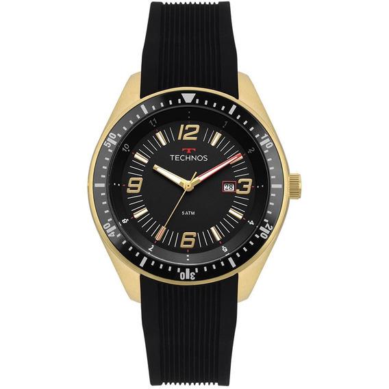 Relógio Technos Masculino Racer Dourado 2115mqs/8p