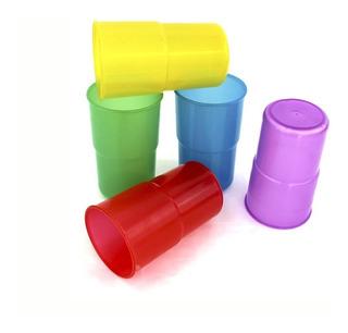 34 Vasos De Plastico Reutilizables Europeos De 500ml