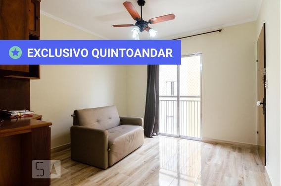 Apartamento No 2º Andar Com 2 Dormitórios E 1 Garagem - Id: 892893449 - 193449