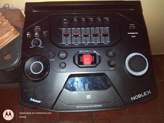 Parlante Noblex Party Audio System Mnt950bt