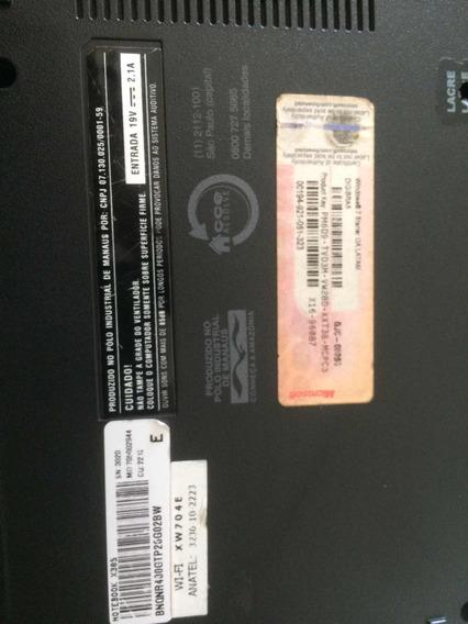 Notebook Cce Win X30s Intel Atom 1.8ghz 2gb Hd-300gb