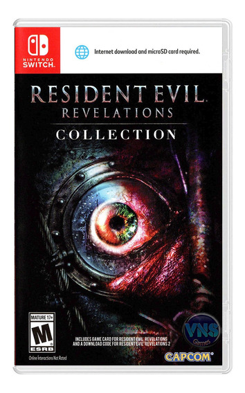 Resident Evil Revelations Collection - Switch - Lacrado