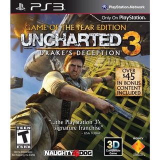 Uncharted 3 La Traición De Drake - Edición Juego Del Año -