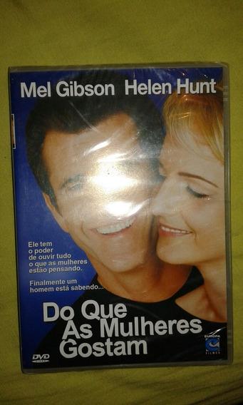 Dvd. Do Que As Mulheres Gostam. Mel Gibson.hunt.lacrado. F7