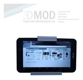 Suporte De Parede Tablet iPad Para Dupla Face Até 1.1cm Nf