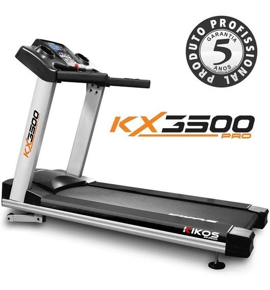 Esteira Profissional 170kg 18km/h Kikos Mod2018kx3500