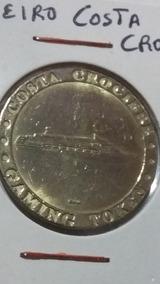 Medalha Comemorativa Ao Navio Costa Crociere