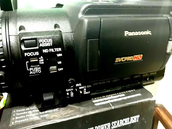 Panasonic Hvx200 + 2cartão P2 16g + 2 Baterias E Carregador