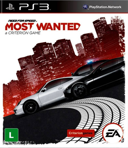 Need For Speed Most Wanted - Jogos Ps3 Playsation 3