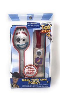 Disney Toy Story 4 Pixar Forky Haz Tu Mismo El Tuyo 3+ *full