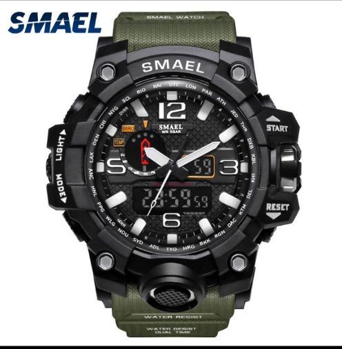 Relógio Tático Militar Smael Original Aprova D