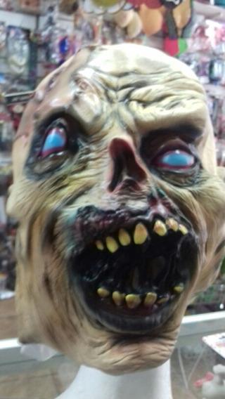 Mascara Zombie Desintegrado. Latex Chirimbolos