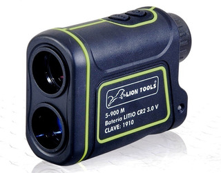 Telemetro Laser Lion Tools 900 Mts, Velocidad, Mts Y Yds