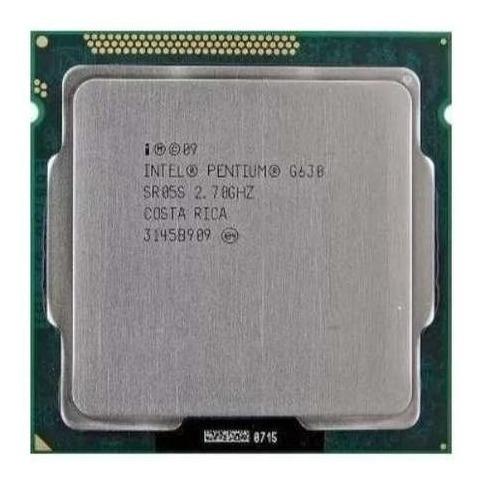 Processador Intel G630 Pentium 2.70 Ghz Socket 1155 + Cooler