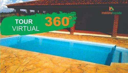 Chácara Em Araçoiaba  Com Tour Virtual - Ch0209