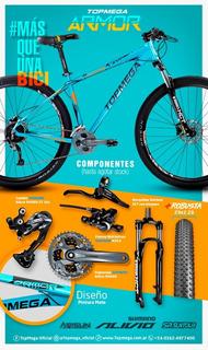 Biciceta Top Mega Armor Sport