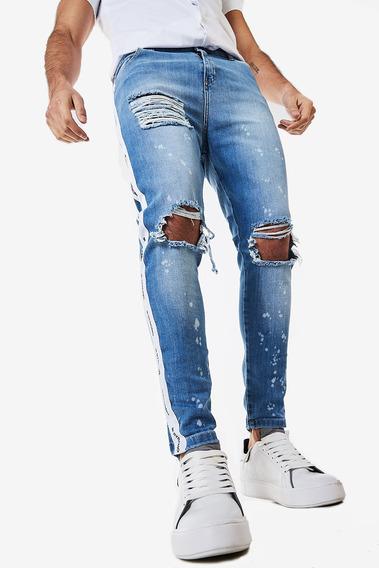 Jean Skinny Tarmen Celeste Hombre