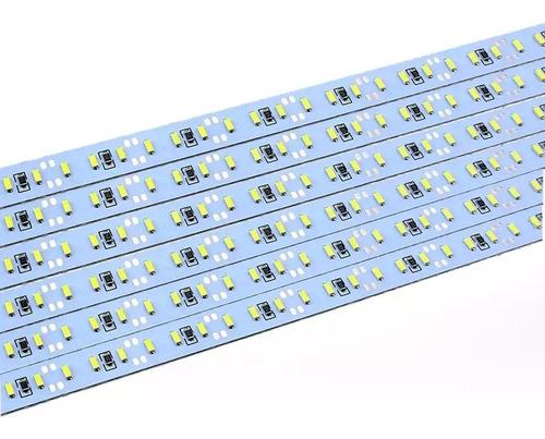 Regleta Led 4014 1mt 12v 144led Luz Aluminio Rigida