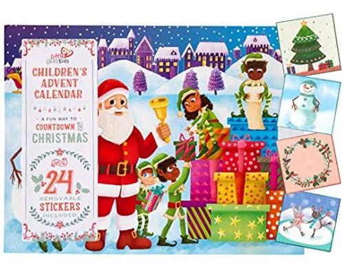 Imagen 1 de 4 de Little Likes Kids Calendario De Adviento Infantil Caucasico