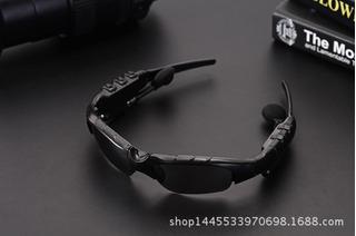 Chinês E Inglês Lente Preta V4.1 Chamada Bluetooth Headset 4