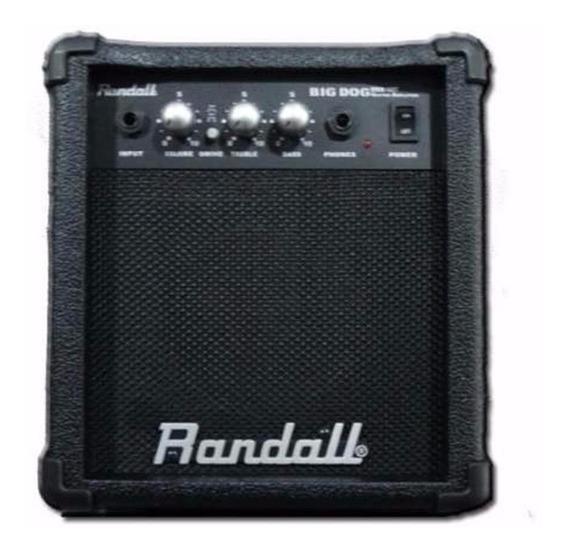 Randall Rbd10t Amplificador Guitarra 10w 6 Pulg