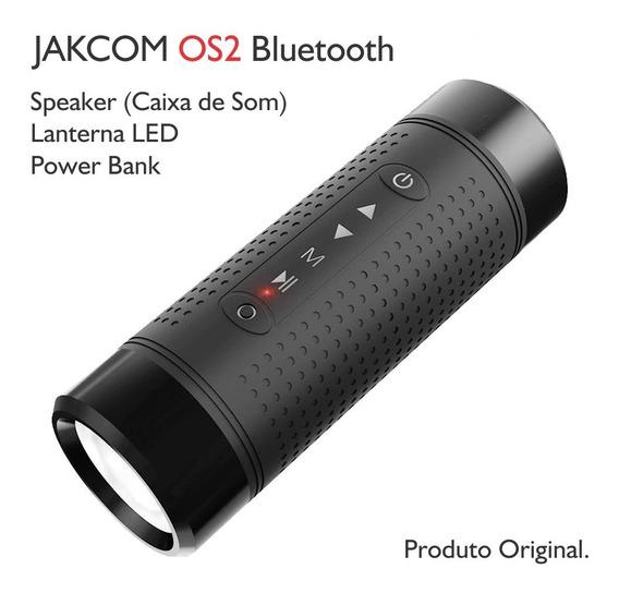 Caixa Som Jakcom Os2 Bluetooth 4.0 Lanterna Led