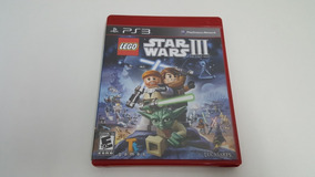 Jogo Lego Star Wars 3 The Clone Wars - Ps3 - Original