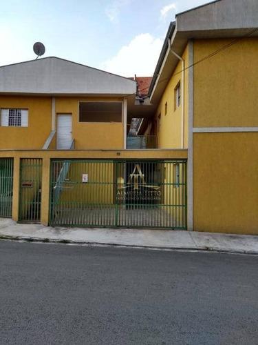 Casa Com 2 Dormitórios Para Alugar, 60 M² Por R$ 1.300,00/mês - Vila São Miguel - Barueri/sp - Ca2416