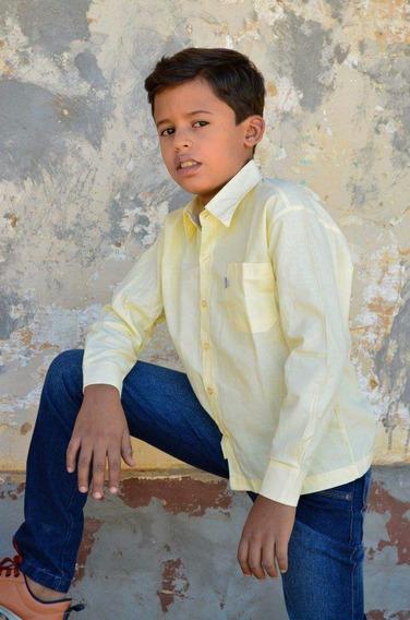 Camisa Social Infantil Menino