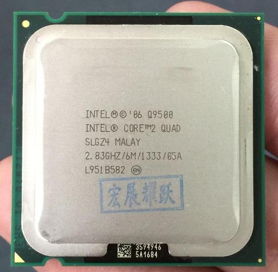 Core 2 Quade Q9500 4 Núcleos Lga 775 2.8 Ghz/6 M/1333 Ghz