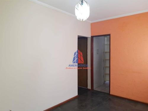 Apartamento Com 2 Dormitórios À Venda, 48 M² Por R$ 150.000,00 - Parque Novo Mundo - Americana/sp - Ap1328