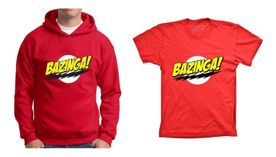 Blusa Moletom Bazinga Camiseta Bazinga The Big Bang Theory