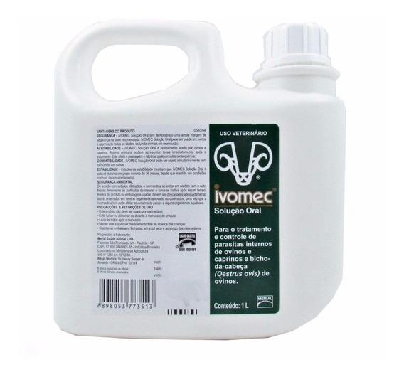Ivomec Solução Oral 1 Litro | Ivermectina 0,8%