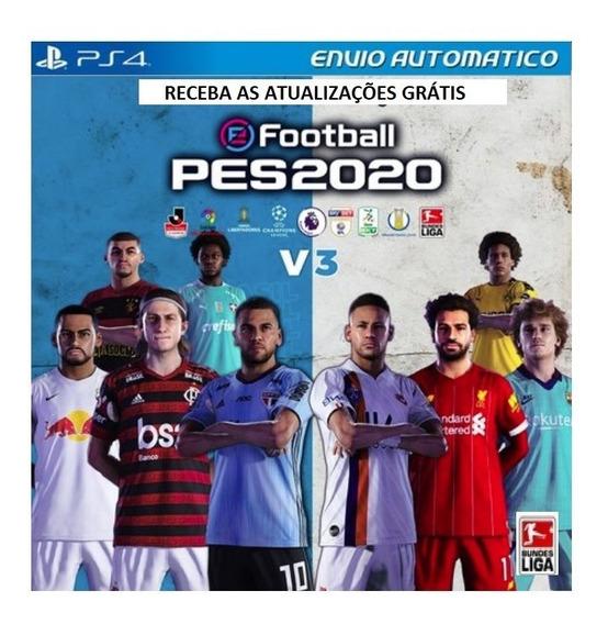 Patch Pes Ps4 Brasileiro Libertadores Ligas Mundiais Tudo
