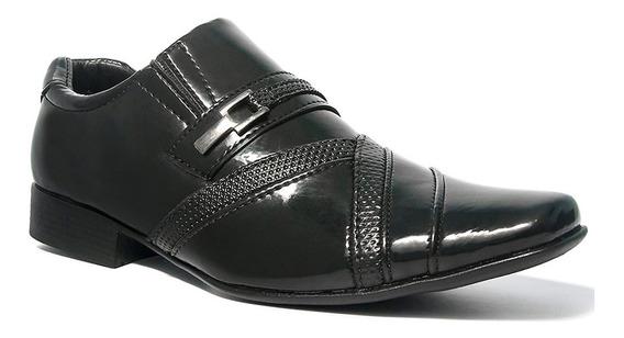 Sapato Social Masculino Salazari Couro Sintético