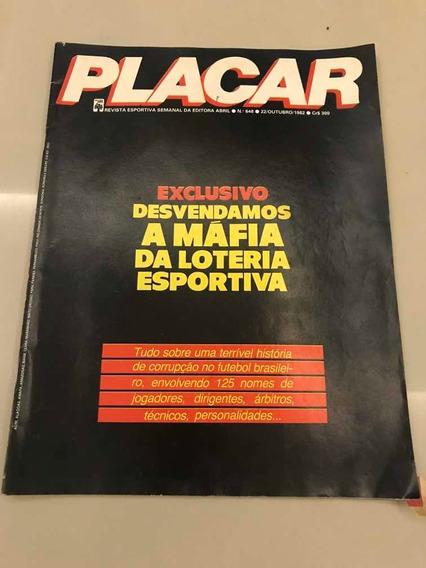 Revista Placar 648 Vasco Loteria Esportiva River Plate 1982
