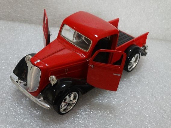 37 Ford Pickup Vermelha Sunnyside 1:34 Loose *** Ver Obs.