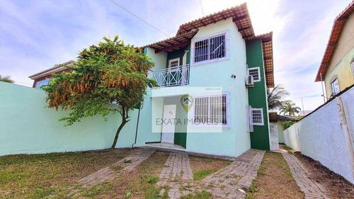 Imagem 1 de 15 de Casa Meio Terreno 4 Quartos, Ouro Verde/ Região De Costazul, Rio Das Ostras! - Ca1339