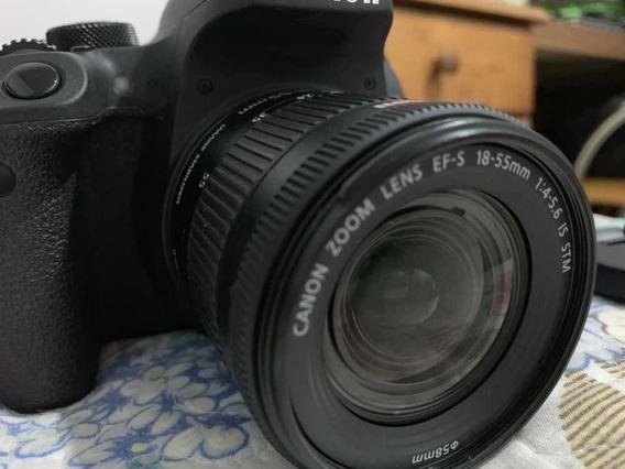 Canon Rebel T7i + Lente 18-55 + Cartão De Memória 32 Gb