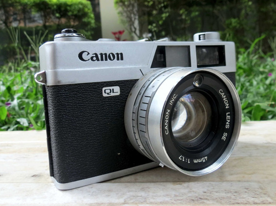 Câmera Canon Canonet Ql17 Ano 1965 Funciona Leia O Anuncio