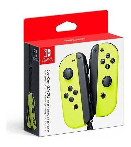 Nintendo Joy-con (l/r) Amarelo Neon - Switch