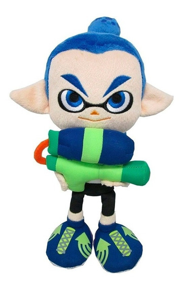 Peluche Splatoon Inkling Boy Felpa Little Buddy 23cm /u
