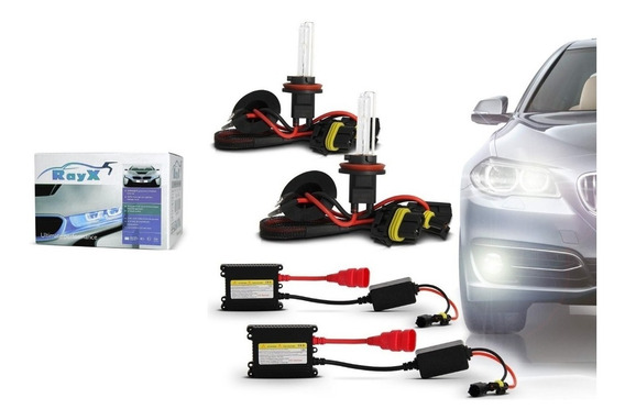 Kit Xenon Lampada Rayx H1 H3 H4 H7 H11- 6000k - Completo Com Reator