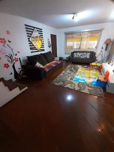 Sobrado Com 3 Dormitórios À Venda, 206 M² - Jordanópolis - São Bernardo Do Campo/sp - So20433
